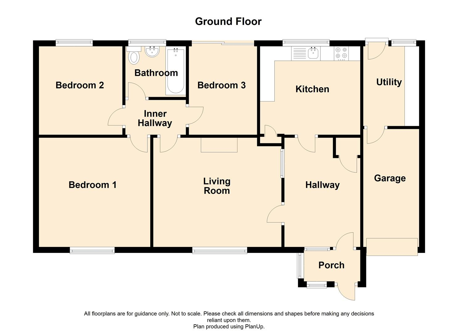 3 Bedroom Detached Bungalow For Sale - 9 Mercer Crescent, Haslingden.jpg